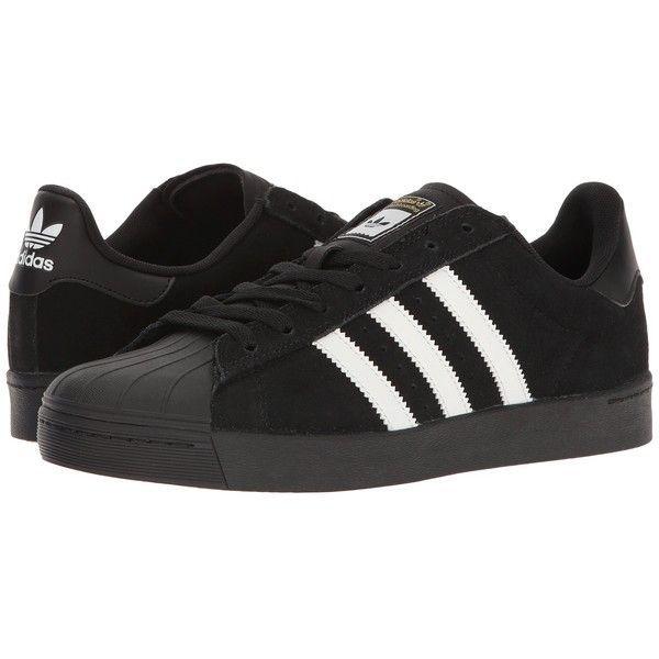 adidas superstar, te lo skateboard avanzati (nero / bianco / nero) con