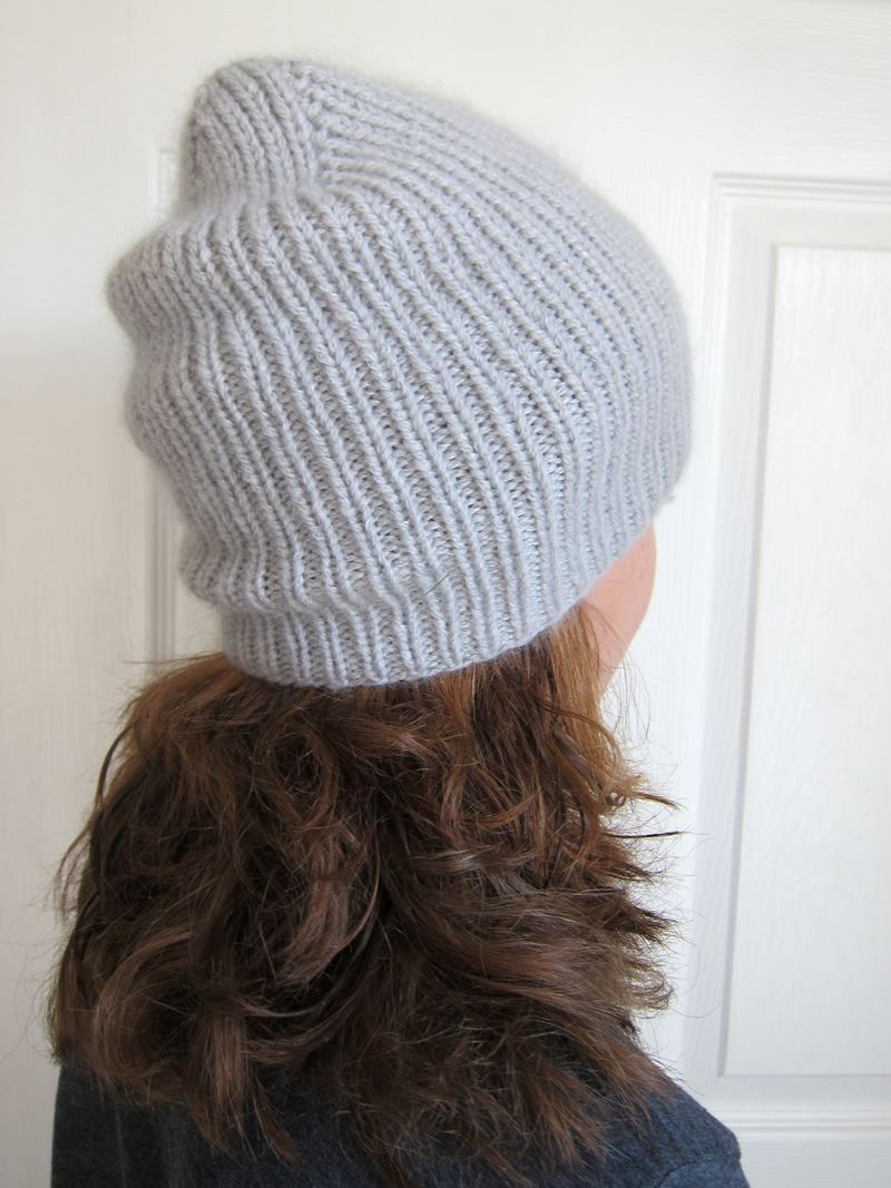 A luxurious ribbed hat knit with woolfolk far and shibui silk a luxurious ribbed hat knit with woolfolk far and shibui silk cloud held together it bankloansurffo Gallery