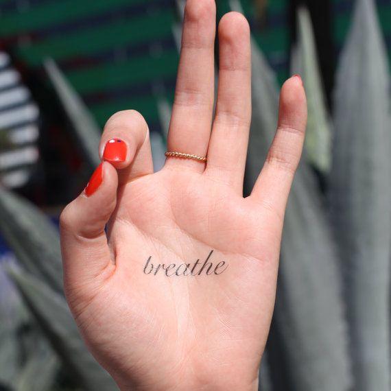 Respirar medio espíritu tinta temporal tatuaje por SpiritInk
