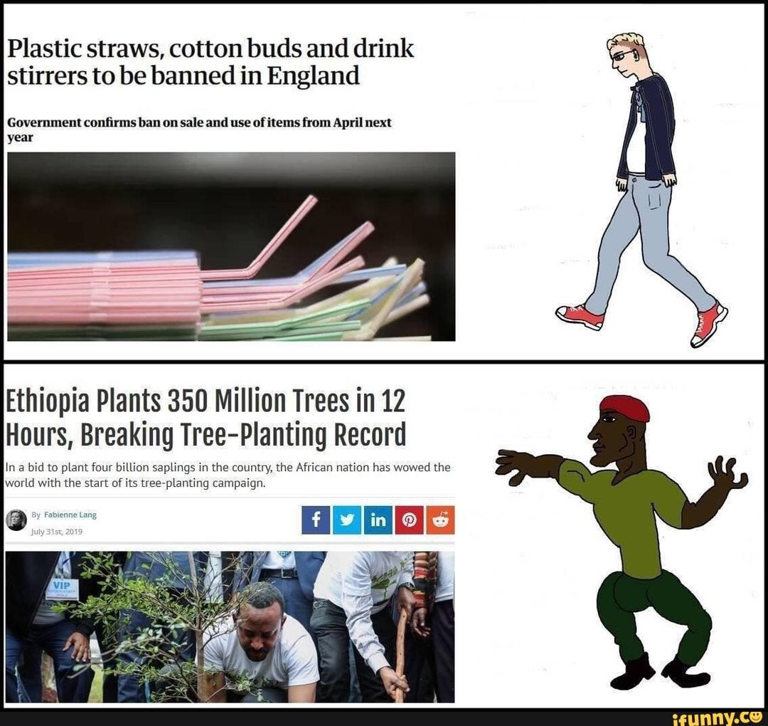 Plastic Straws Cotton Buds And Drink Stirrers To Be Banned In England Government Con???rms Kanon Sale And Useolitems From April Next Year Ethiopia Plants 350 Mil Drink Stirrers Funny Sports Memes Memes