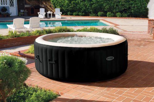 Ebay Intex Pure Spa 4 Person Portable Jet Bubble Deluxe Massage Hot Tub 28443e 599 95 Sav Portable Hot Tub Inflatable Hot Tubs Best Inflatable Hot Tub