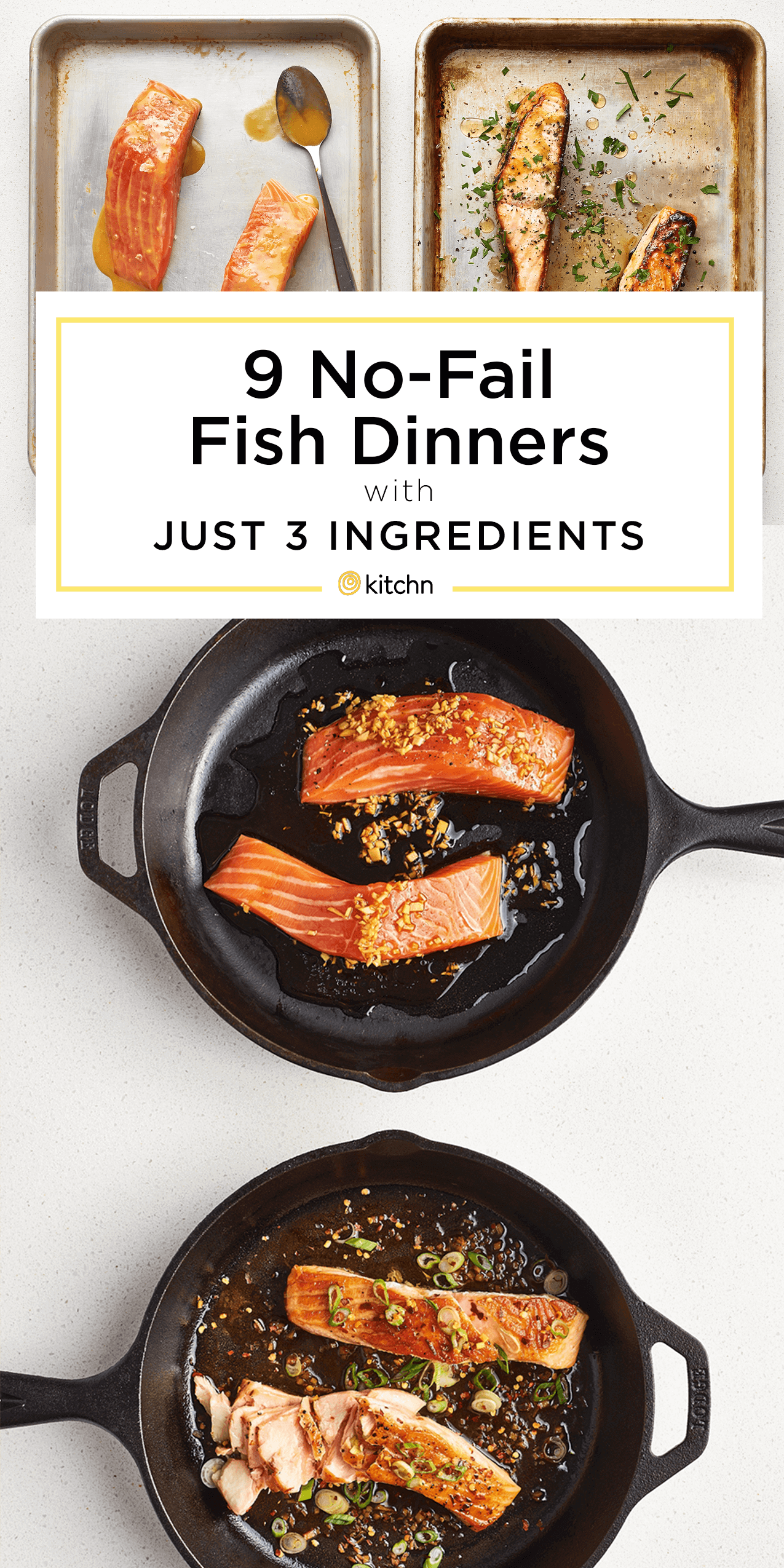These 9 Fish Dinners Need Only 3 Ingredients and a Glance images