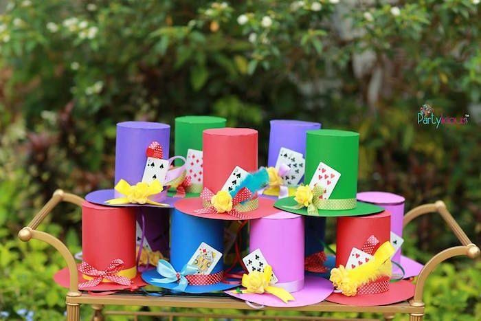 Wonderland Birthday Tea Party Mad Hatter Birthday Party Mad