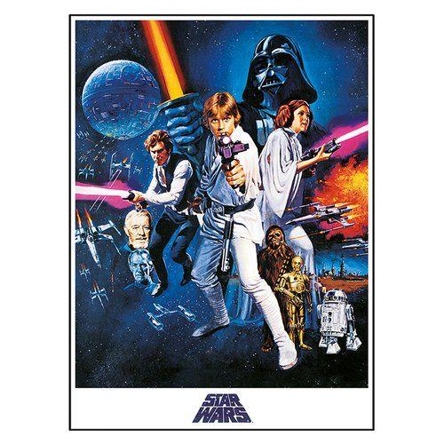 Leinwandbild Star Wars Episode Iv Eine Neue Hoffnung Star Wars Grosse 80 Cm X 60 Cm Star Wars Poster Star Wars Games Poster Prints
