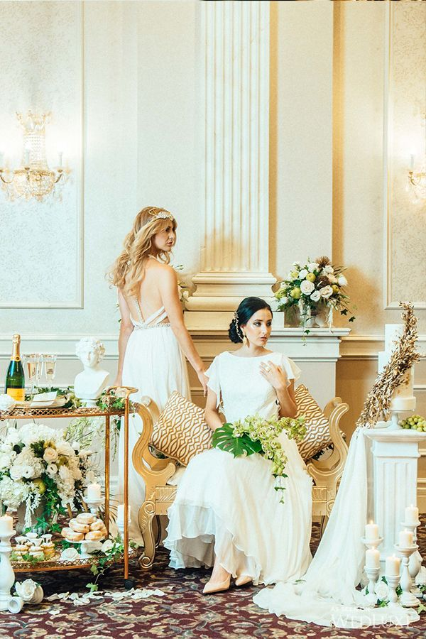 Wedluxe An Ethereal Take On Ancient Greece Wedding Ideas