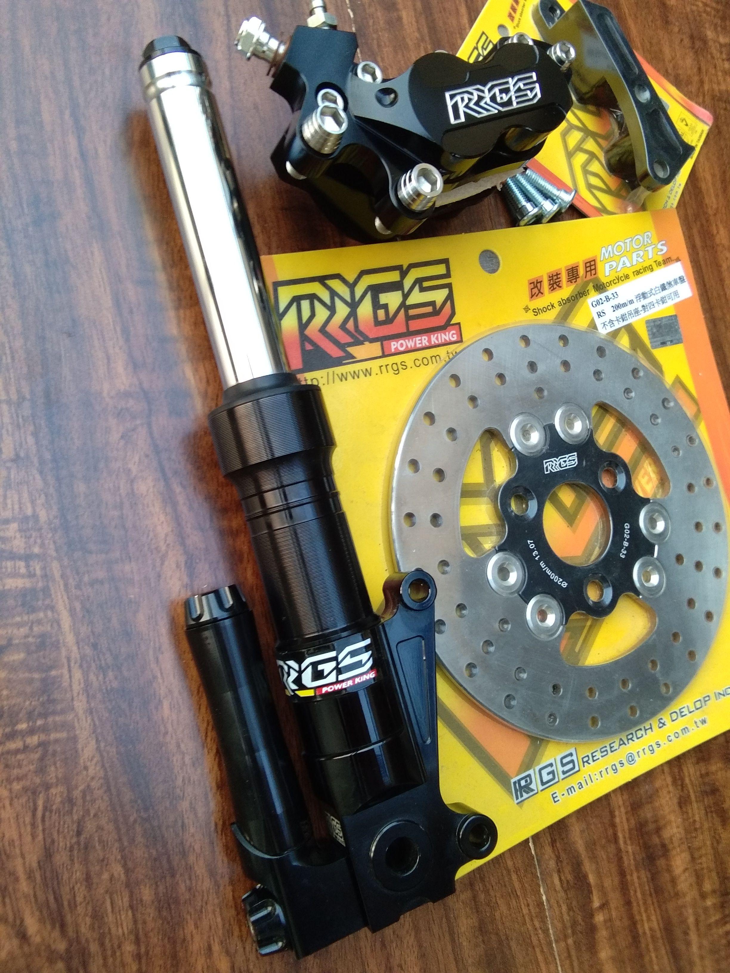 RRGS custom HONDA Ruckus front end disk brake conversion kit $599.99 ...