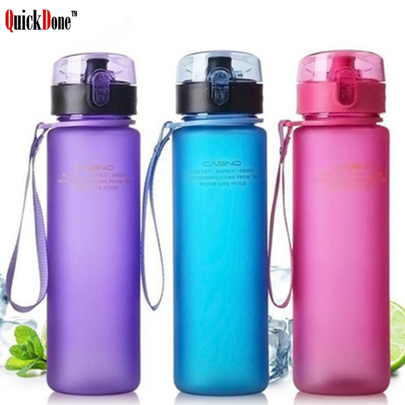 Quickdoue 560ml Bpa Free Plastic Water Portable Sports Outdoor Water Bottles Travel Hiking Drinking Bottle Akc5021 Water Bottle Bottle Drinking Water Bottle