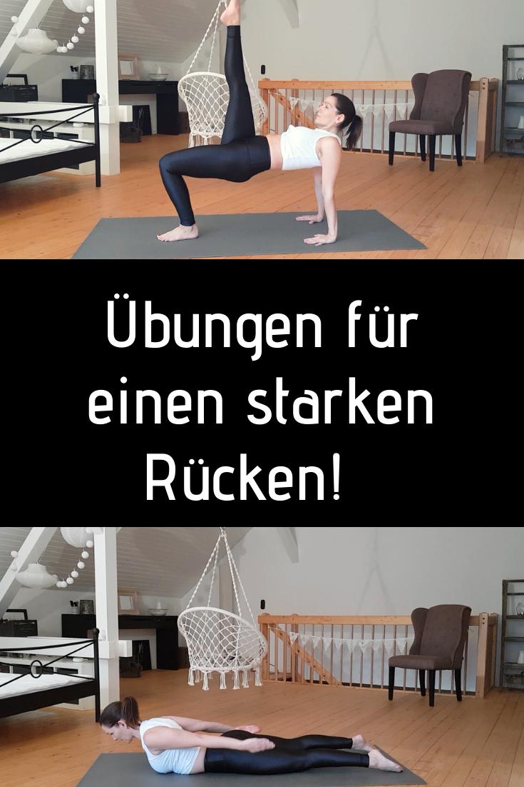 Übungen zur Fettverbrennung im Rücken