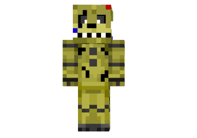 How To Install Springtrap Skin For Minecraft First Download This - Skin para minecraft 1 8 browse