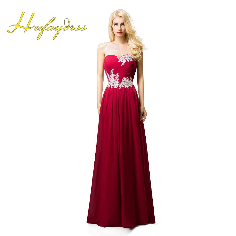 Red bridesmaid dresses long 2017 sweetheart applique cheap chiffon red bridesmaid dresses long 2017 sweetheart applique cheap chiffon bridesmaid gowns lace up maid of honour ombrellifo Image collections