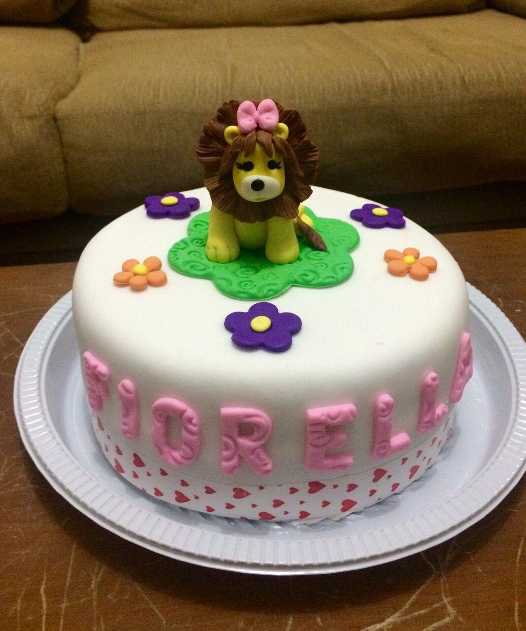 torta leoncita para Fiorella