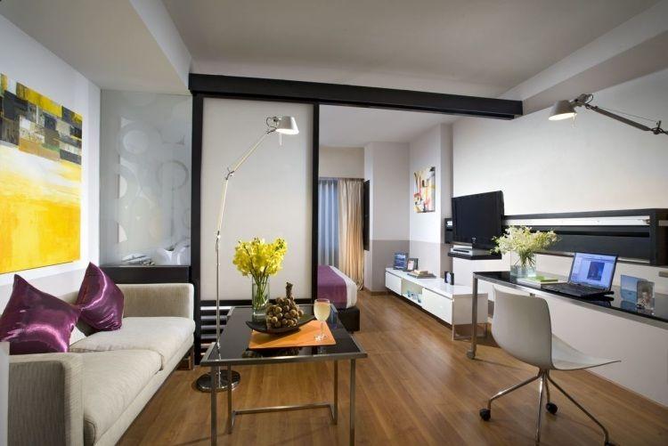 Kleines Zimmer einrichten - 38 kreative platzschaffende Ideen - einraumwohnung einrichten zimmer gestalten