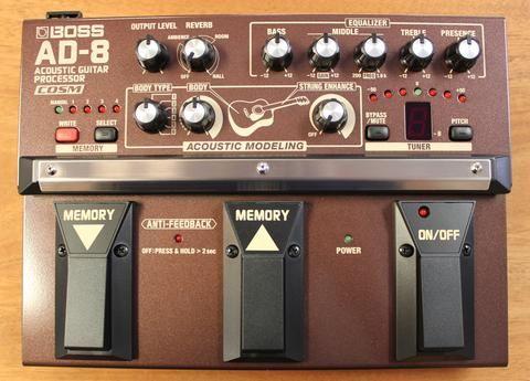 Boss Ac 3 Acoustic Simulator Guitar Effects Pedal Guitar Multi Effects Pedal Effects Pedals Guitar Effects