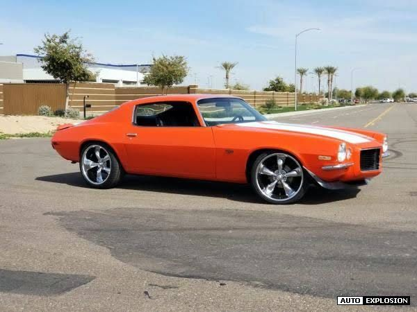 1972 Chevrolet Camaro Rs Vf3 Option for sale in White