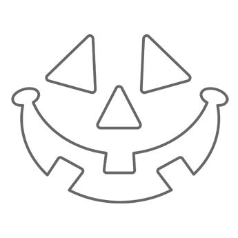 printable halloween lantern template  Happy Halloween, Printable Jack-O-Lantern Stencil ...