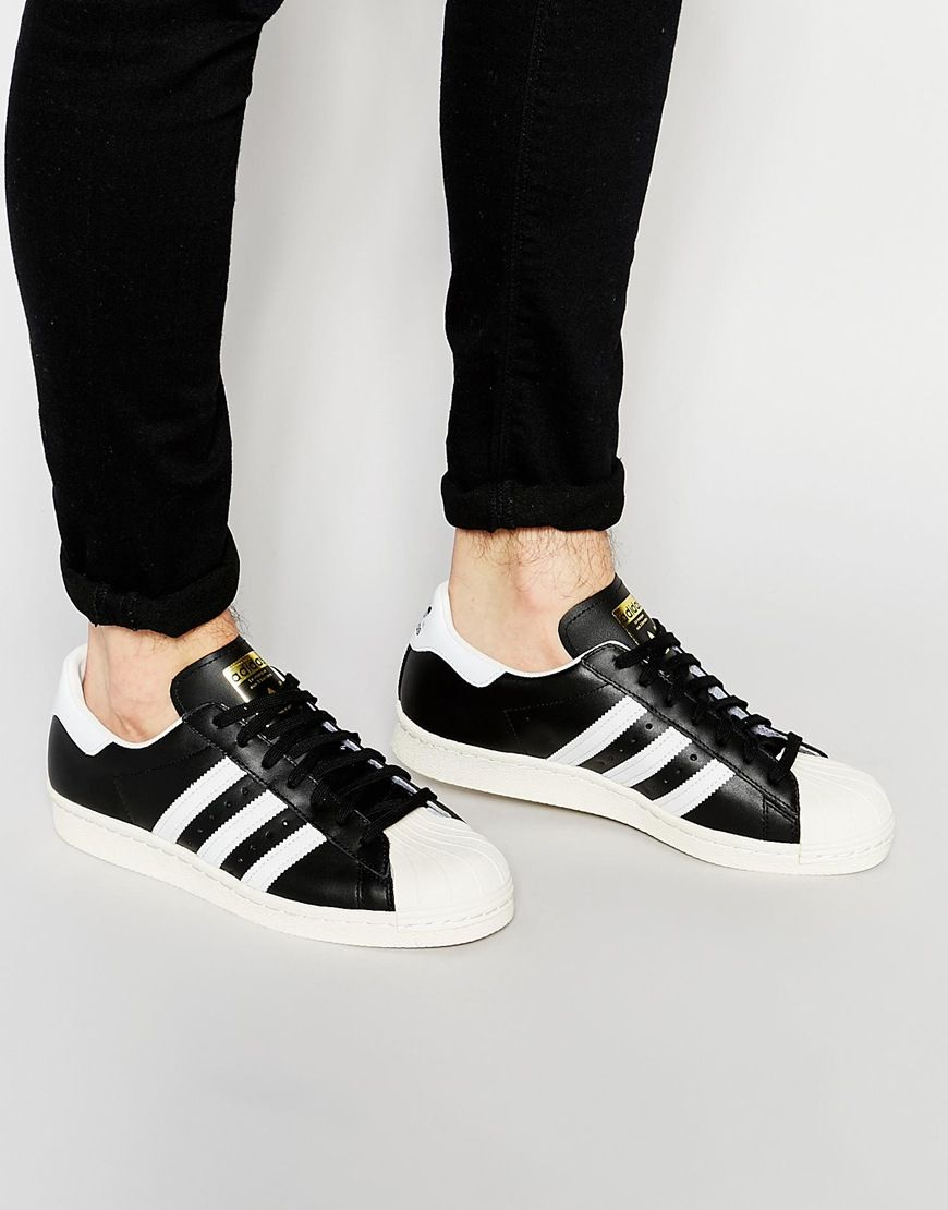 Image 1 of adidas Originals Superstar 80 s Sneakers G61069  365696ff81f2