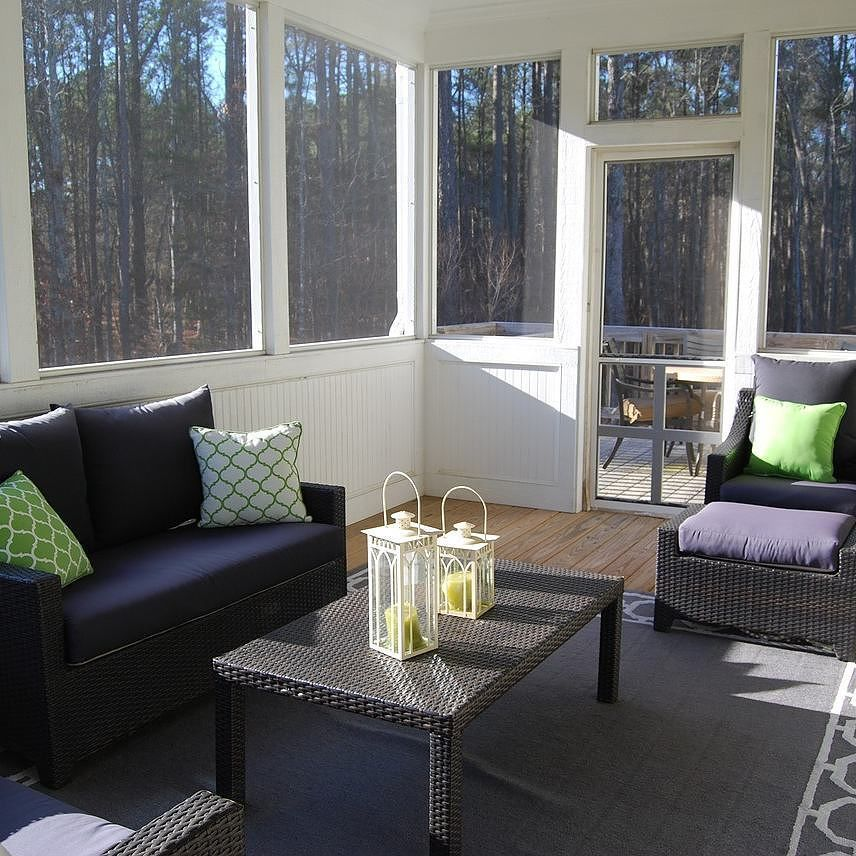 Mobile Homedecorating: What Do You Think Of This Sun Room That Has The Beat Board