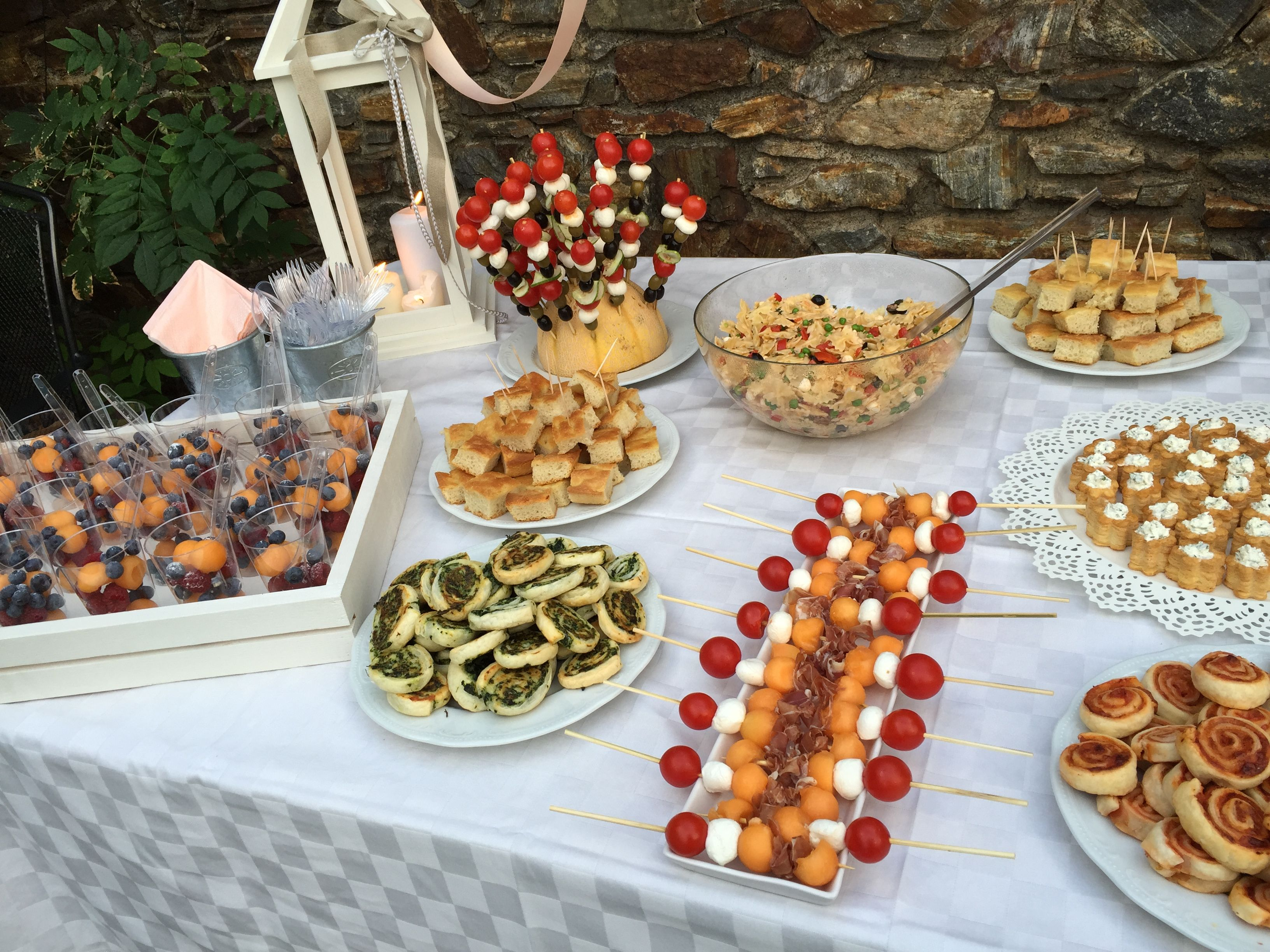 festa di compleanno 18 anni buffet di colori e sapori On idee per buffet di compleanno