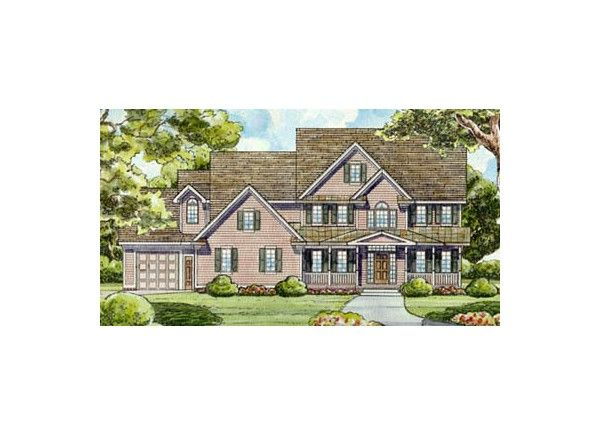 Global House Plan #38-495 *2 | Floor Plans | Pinterest | Country ...