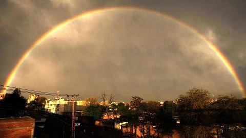 Peshawar rainbow Pakistan travel, Khyber pakhtunkhwa
