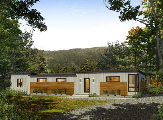 Les maisons bonneville maisons usin es home in 2019 maison bonneville maison usin e maison - Maison prefab ...