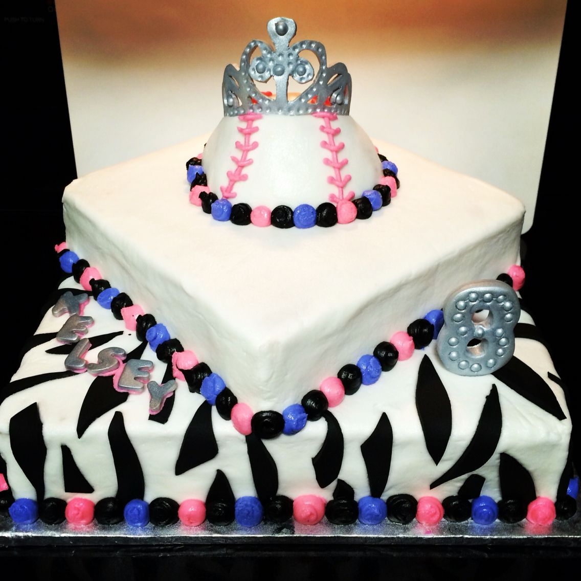 Birthday Cake For A Tomboy Whos Also Princess Party Tomorrow 3 18 16