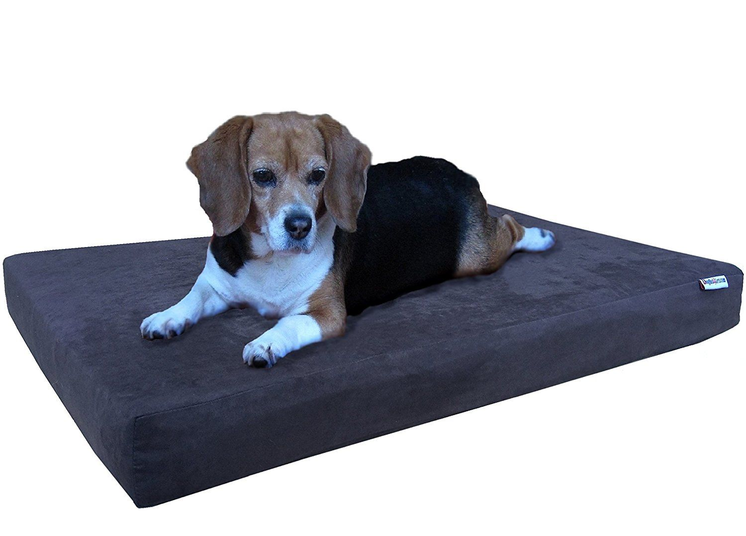 Dogbed4less Orthopedic Gel Cooling Memory Foam Dog Bed For Small