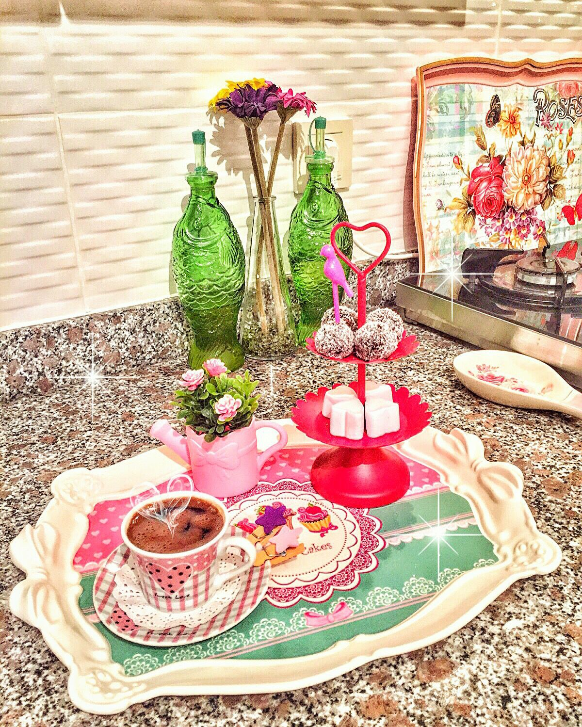 Kahve Sunumu Turkish Coffee Dinner Decoration Coffee Love