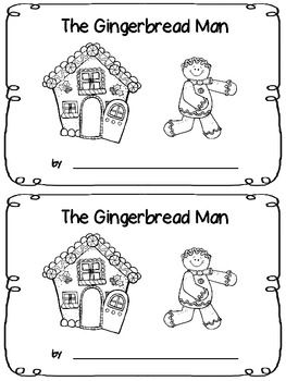 picture regarding Gingerbread Man Printable Book named The Gingerbread Male - Emergent Reader Emergent Guests