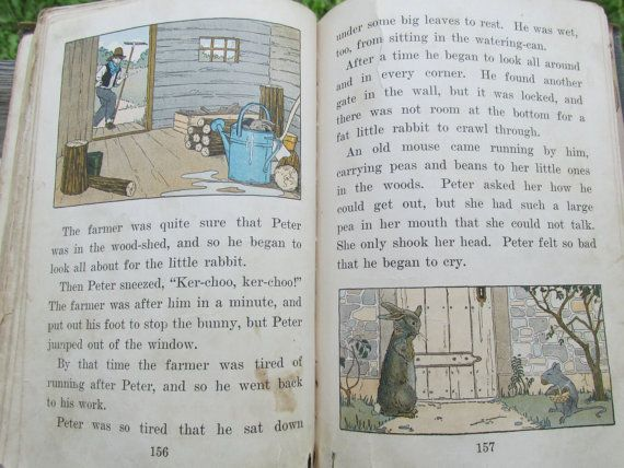 Child Library Readers Book Two 1925 English By Cedarlanefarm