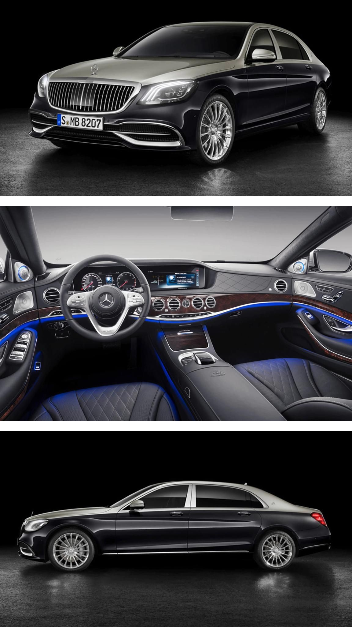 Admirable The 2019 Mercedes Maybach S Class Arrives In Style The Top Model Wiring Cloud Philuggs Outletorg