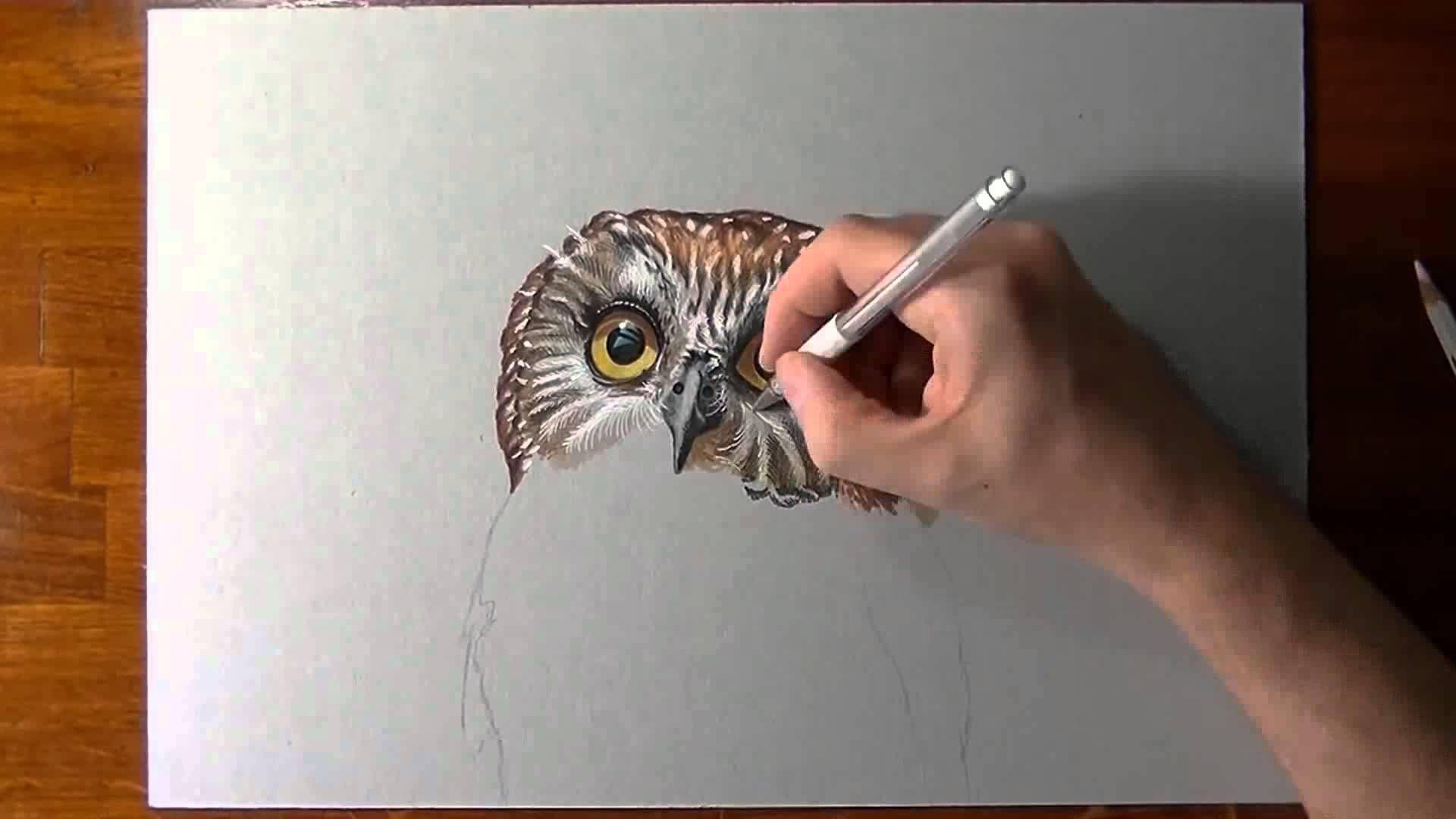 Artista italiano cria desenhos realistas capazes de confundir o teu cére...