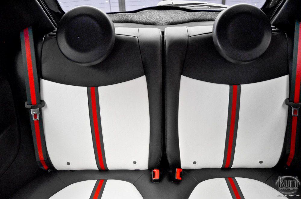 Gucci Fiat 500 The Seat Belts Are Striped Kuni Auto Center