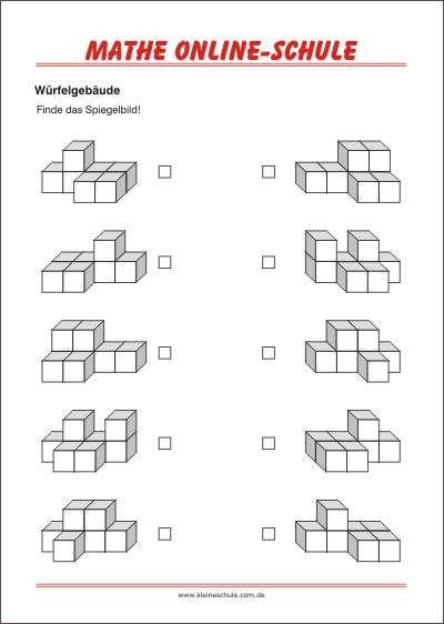 w rfelgeb ude finde das spiegelbild geometrie 2 klasse kreslen podle vzoru. Black Bedroom Furniture Sets. Home Design Ideas