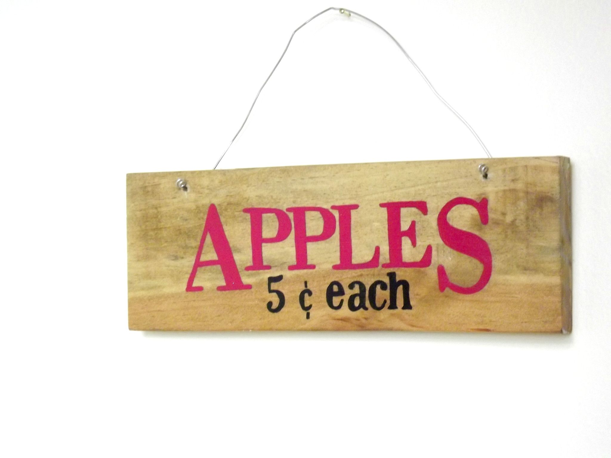 Country Kitchen Wall Decor- \