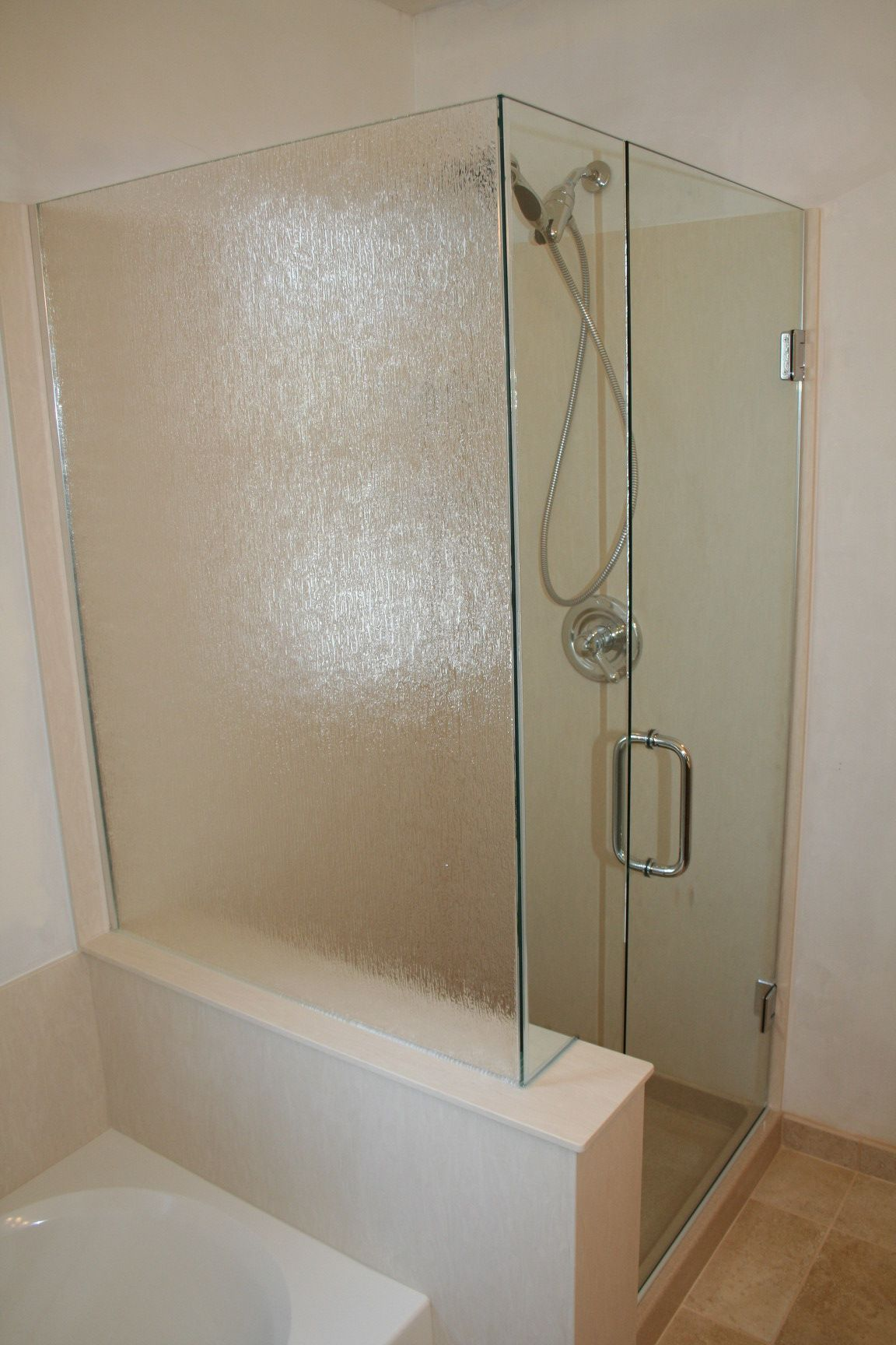 Frosted glass shower door google search house pinterest frosted glass shower door google search planetlyrics Image collections