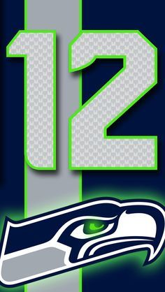 I Made Phone Wallpapers Based On The Jerseys Of Every Nfl Team With Throwbacks As An Added Bonus Imgur In 2020 Seattle Seahawks Logo Nfl Seahawks Nfl Seattle