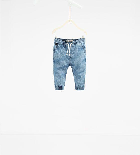 Calças jogger estampadas | Moda de bebê menino, Roupas de