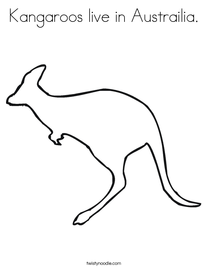 kangaroo printout Google Search Around the World