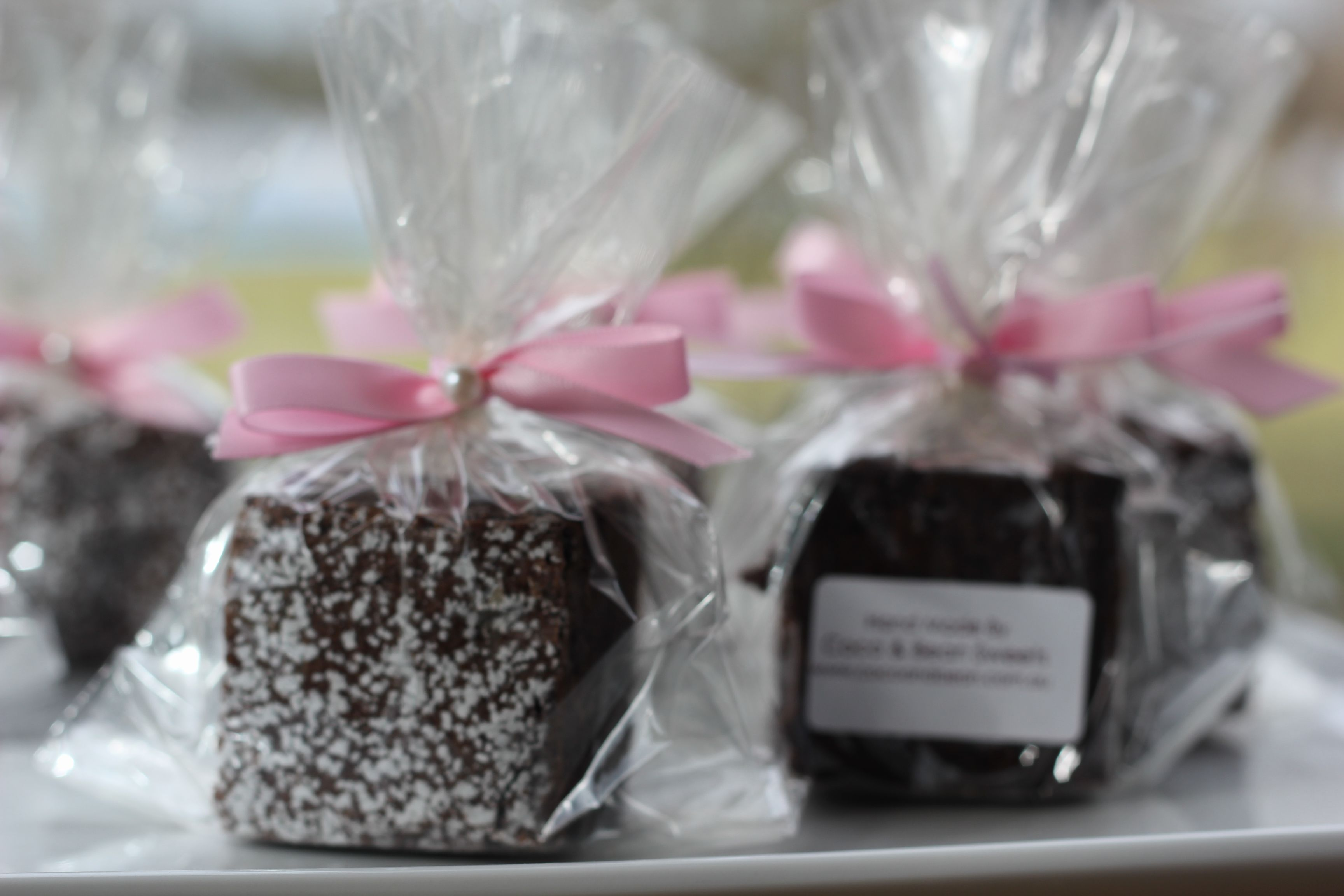 coco & bean belgium brownie favours...