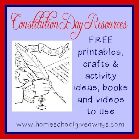 Constitution Day Crafts Social Studies