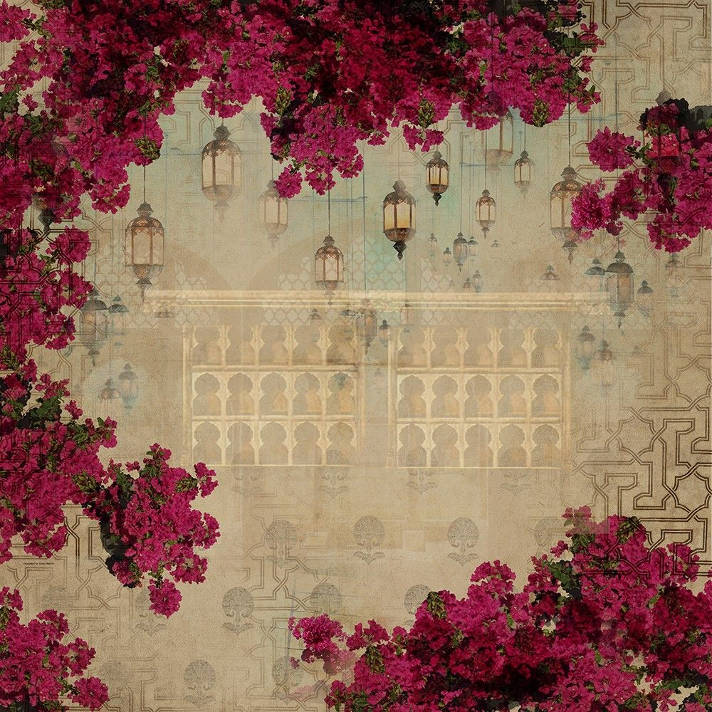 Bougainville Spectabilis Wallpapers by India Circus Decor