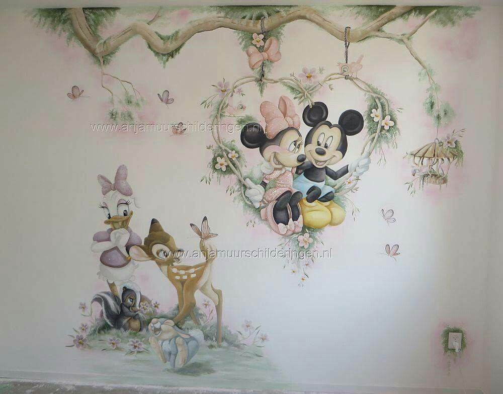 Pin de javier moguel caba as en pintura sobre pared - Habitaciones infantiles disney ...
