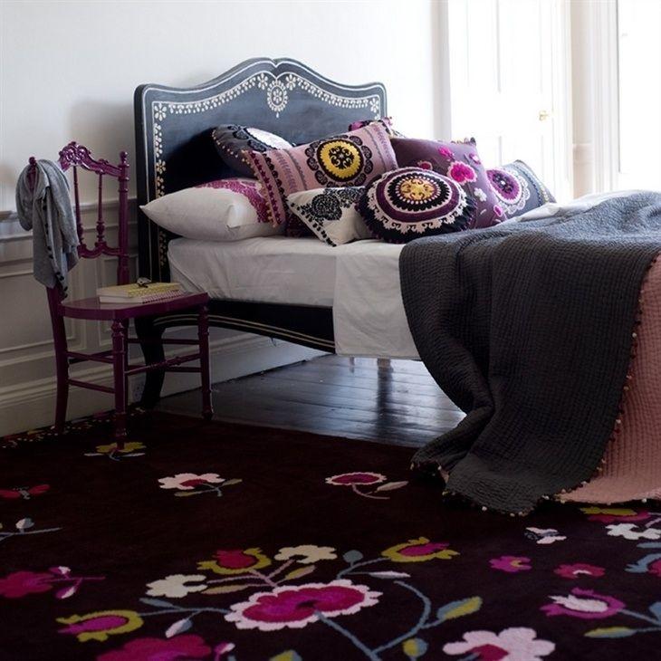 die besten 25 blumen schlafzimmer ideen auf pinterest. Black Bedroom Furniture Sets. Home Design Ideas