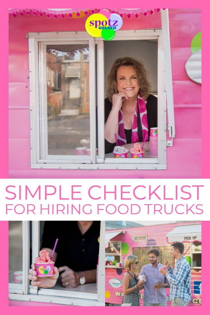 How to hire a food truck for your next outdoor event like