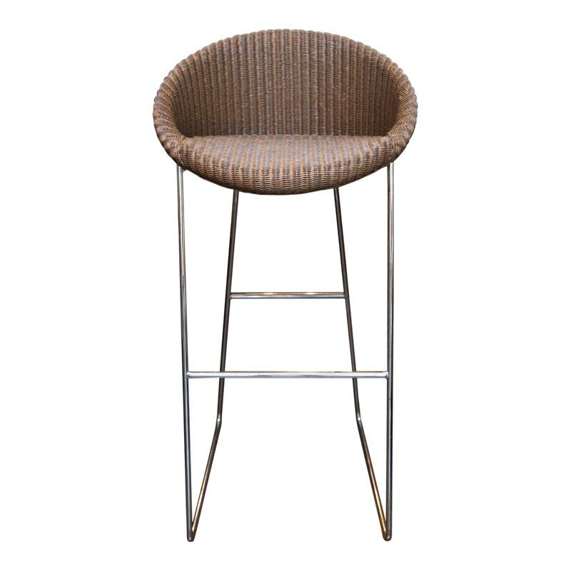 Set Of Three Joe Bar Stools By Vincent Sheppard For Lloyd Loom Lloyd Loom Bar Stools Diy Deck Furniture
