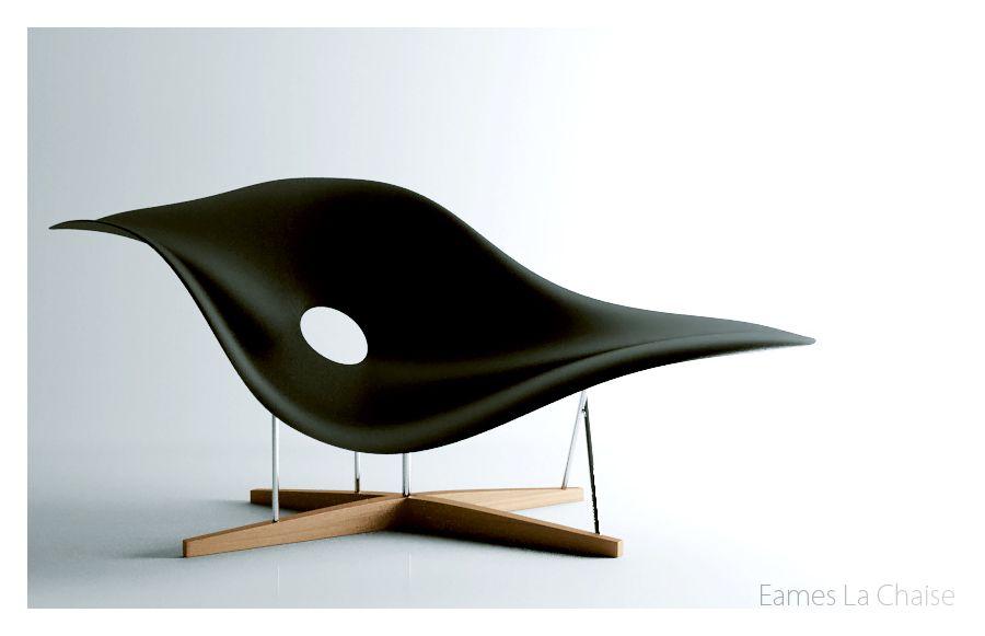 Eames La Chaise By Apixx Deviantart Com On Deviantart Chair Chaise Lounge Chair Chaise Chair