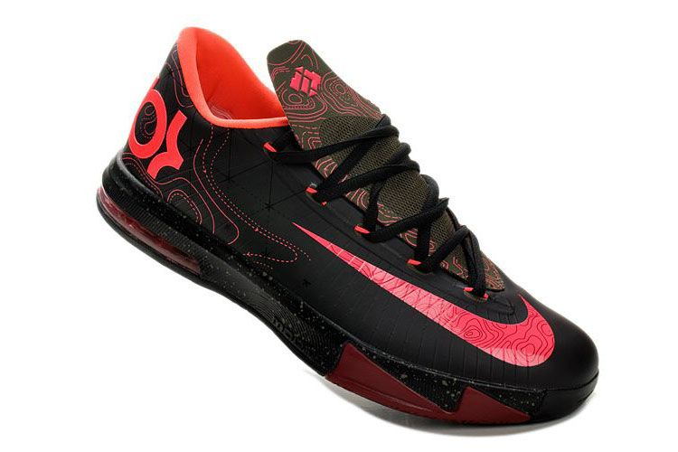 Original  Shoes  Aaa Nike Kd V Women Basketball Shoes Red Yellow For Sale