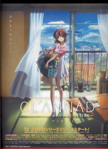 Clannad: After Story (TV) POSTER Movie (11 x 17 Inches - 28cm x 44cm) (2008) (Japanese Style G) Decorative Wall Poster http://www.amazon.com/dp/B00KK6HWGO/ref=cm_sw_r_pi_dp_Y556vb1NAQHGA