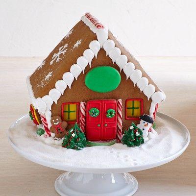 Holiday Gingerbread House Williamssonoma Navidades Navidad Galletas